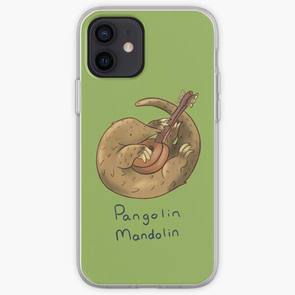 Pangolin mandolin artwork iPhone Soft Case