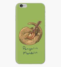 Pangolin mandolin artwork iPhone Case