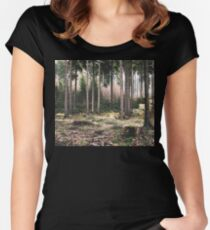 A Quiet Forest Women's Fitted Scoop T-Shirt