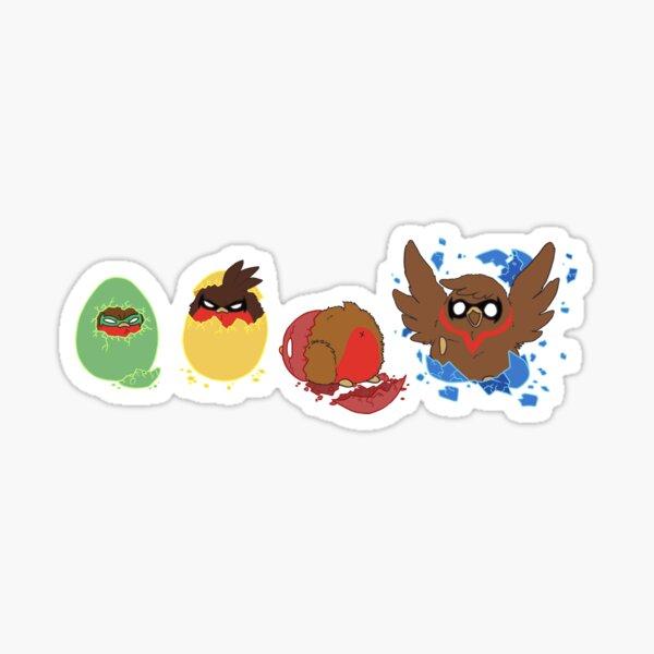 Go!Robins! - Hatching a Robin Sticker