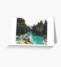 River in the Forest Greeting Card
