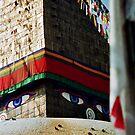 Boudnath Stupa, Kathmandu by Harry Oldmeadow