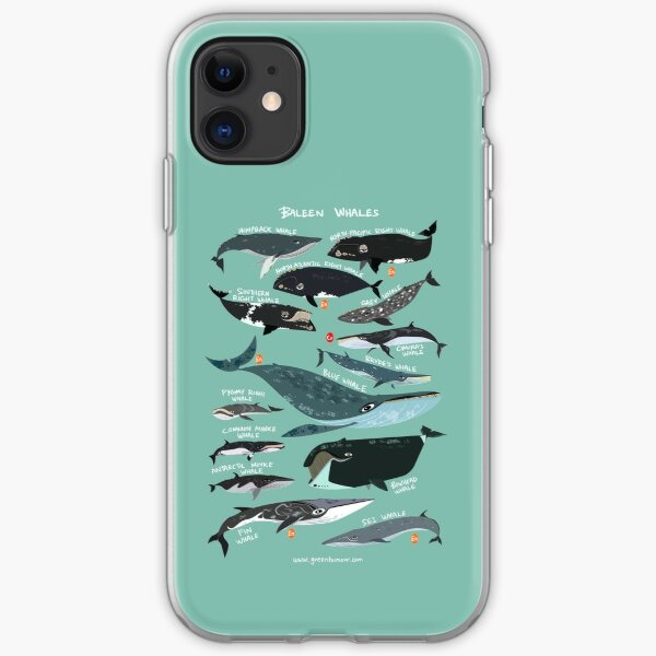 Baleen Whales iPhone Soft Case