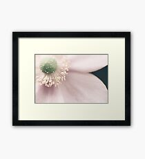 ~ Love the light that brings a smile ~ Framed Print