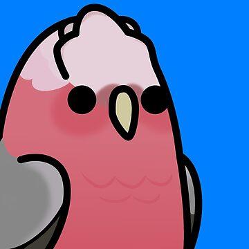 ¡Demasiadas aves! - Galah Cockatoo de MaddeMichael