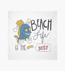 Beach life is the best T-shirt design , Unisex tees  Scarf