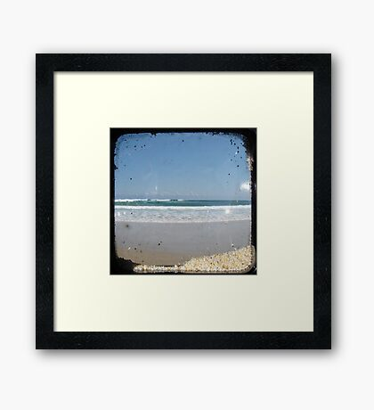 Beach - TTV Framed Print
