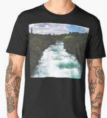 River in the Forest Men's Premium T-Shirt