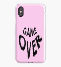 Game Over - Games - Over iPhone Case