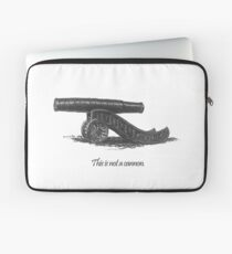 This is not a cannon. Laptop Sleeve