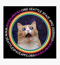 Seattle Space Apps 2015: lolcat design Photographic Print