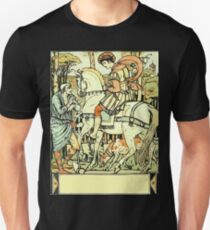 The Sleeping Beauty Picture Book Plate - An Aged Peasant Told of an Enchanted Palace T-Shirt