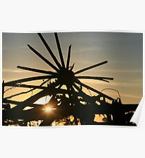 Spiked Sunset 2 Poster