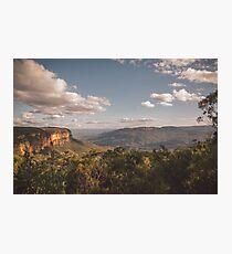Blue Mountains - Australia Photographic Print