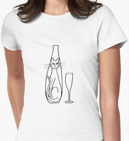 bottle cat T-Shirt
