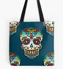 Mexican Sugar Skull, Day of the Dead, Dias de los muertos Tote Bag