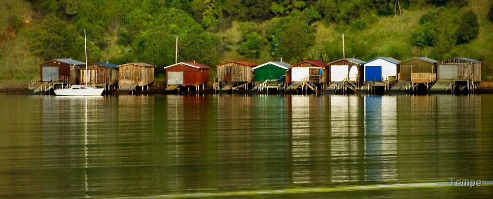 boat houses  by Tempe