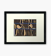 County Courthouse swirls justice in reflection Framed Print