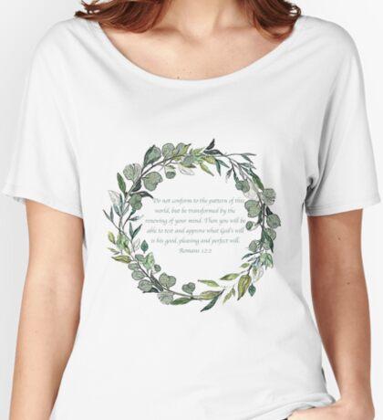 Romans 12:2 Women's Relaxed Fit T-Shirt