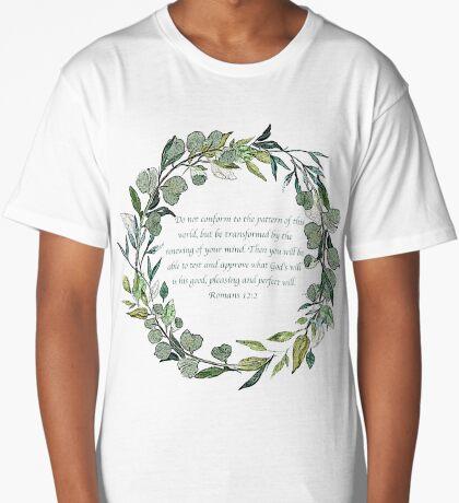 Romans 12:2 Long T-Shirt