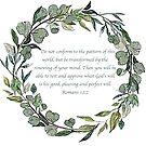 Romans 12:2 by DesignsByDebQ