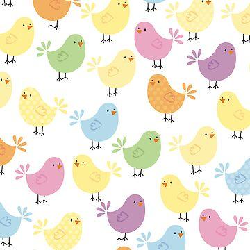 Little chicks by sallyally