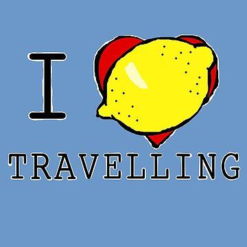 I Lemon Travelling by masqueblanc
