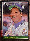 388 - Hal McRae by Foob's Baseball Cards