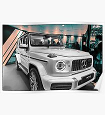 G63 AMG Poster