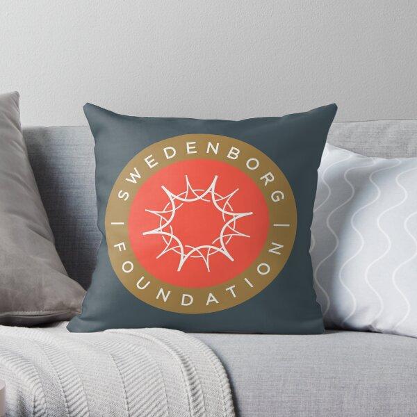 "Swedenborg Foundation ""Crest"" Logo Throw Pillow"