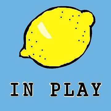 Lemon In Play by masqueblanc