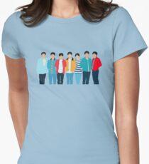 Camiseta entallada para mujer Ámate a ti mismo: maravilla