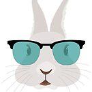 funny rabbit t shirt by malda16