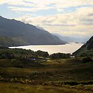 Loch Maree from the road from Gairloch to Inverewe by Alexander Mcrobbie-Munro