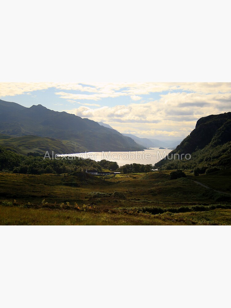 Loch Maree from the road from Gairloch to Inverewe by Alexanderargyll