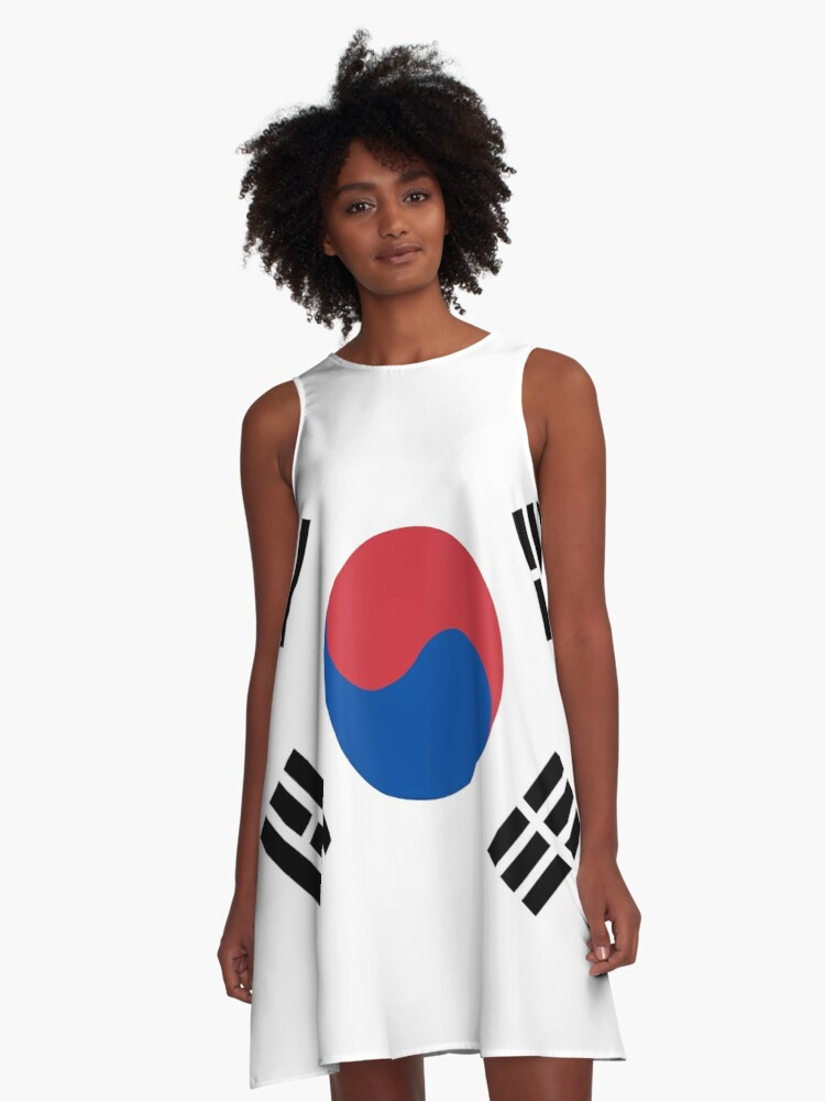 South Korean Flag South Korea Taegeukgi 대한민국의 국기 A