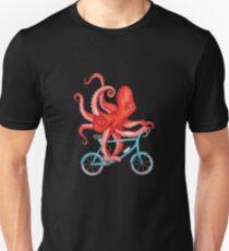 Radfahren Octopus Merchandise Slim Fit T-Shirt