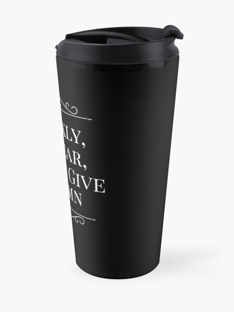 Alternate view of Frankly My Dear I Don't Give a Damn Travel Mug
