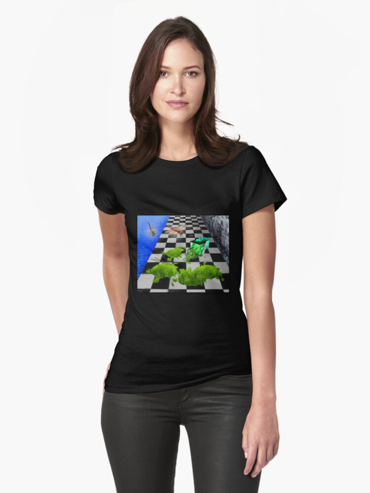 The Grass Spill Tee by dimarie