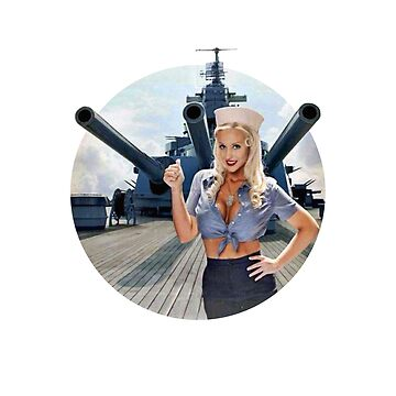 Pin-up Navy WWII Vintage by joseluizleite