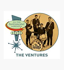 The Ventures - All Time Instrumental Greats Photographic Print