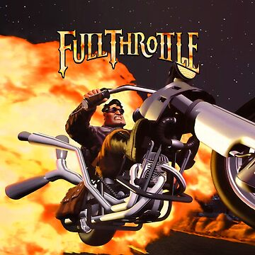 Full Throttle (High Contrast) by hangman3d