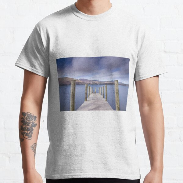 Ashness Jetty, Derwentwater, Lake District, UK Classic T-Shirt