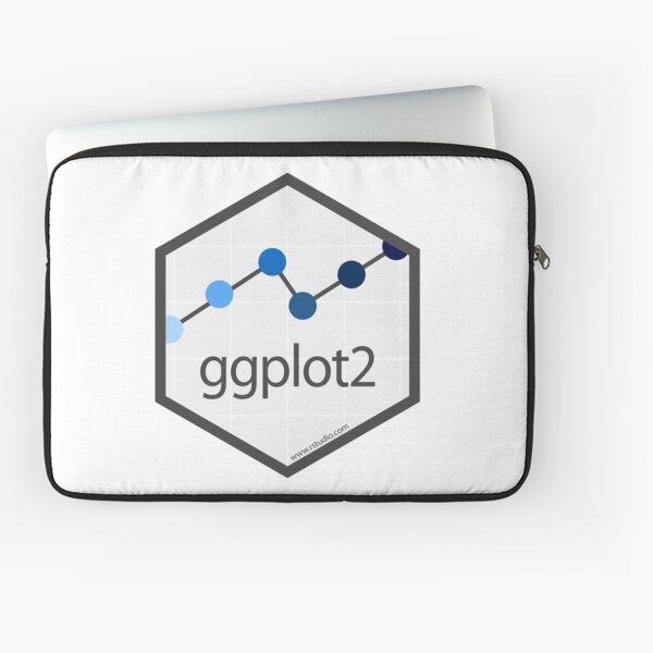 ggplot2 hex logo Laptop Sleeve