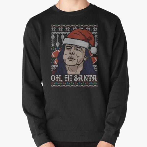 Oh Hi Santa Pullover Sweatshirt