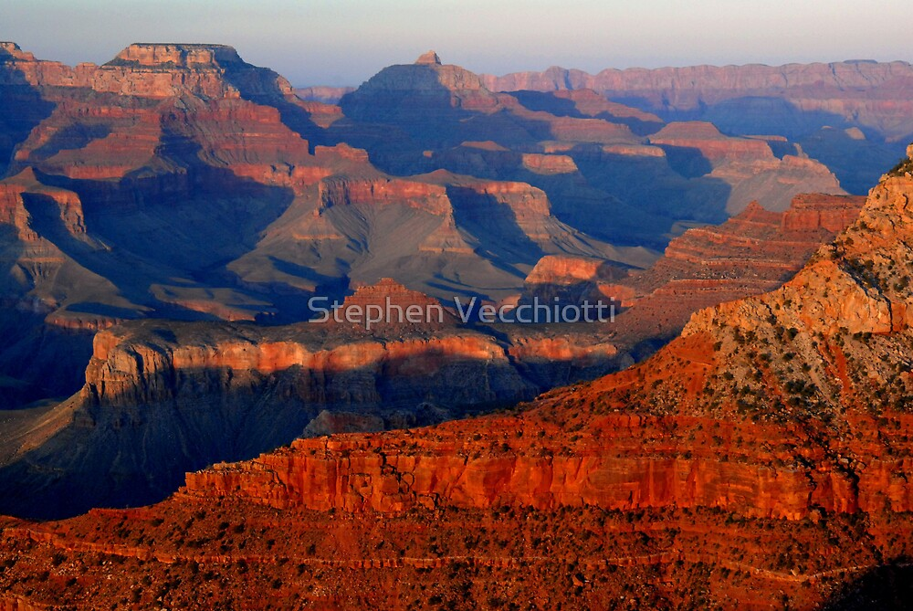 Mather Point Sunset, Grand Canyon by Stephen Vecchiotti