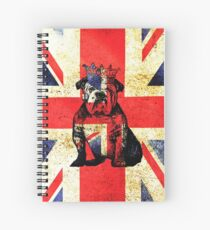 British Bulldog Crown Spiral Notebook