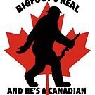 Bigfoot's real and he's a Canadian war hero by RatRoast