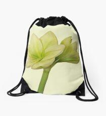 Moonlight  Amaryllis II Drawstring Bag