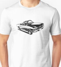 American Sports Car Stylized Illustration Unisex T-Shirt